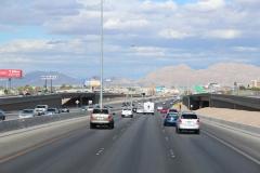 USA, Côte ouest, San Bernardino, freeway