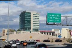 USA, Côte ouest, Las Vegas freeway