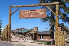 USA, Côte ouest, Old Bryce Town
