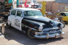 USA, Côte ouest, route 66, ancienne voiture de police
