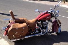 USA, Côte ouest, moto
