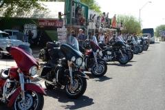 USA, Côte ouest, motos