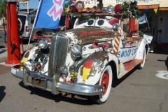 USA, Côte ouest, ancienne voiture route 66