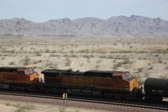 USA, Côte ouest, train