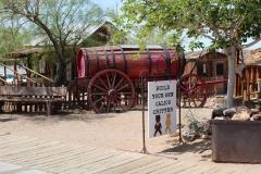 USA, Côte ouest, Calico ville fantôme, désert de Mojave, Californie (Ghost town)