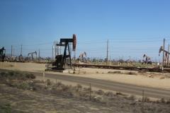 USA, Côte ouest, pompes à pétrole