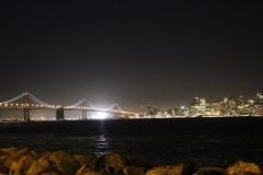 USA, Côte ouest, San Francisco, de nuit