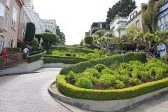USA, Côte ouest, San Francisco, Lombard Street
