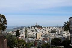 USA, Côte ouest, San Francisco, Coït Tower