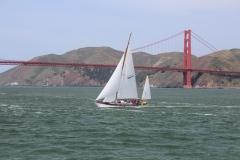 USA, Côte ouest, San Francisco, Golden gate