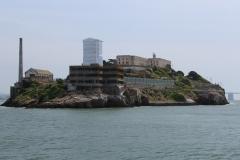 USA, Côte ouest, San Francisco, ancienne prison d'Alcatraz