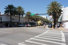 Floride, USA, South Beach, Collins Avenue