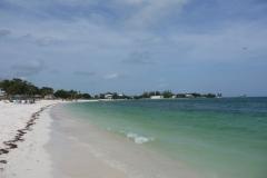 Floride, USA, Marathon Key, Sombrero beach, une belle plage publique de Marathon