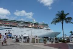 Floride, USA, Key West, les ferrys au départ