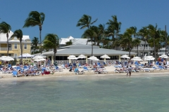 Floride, USA, Key West, Higgs beach, plage la plus au sud de la Floride
