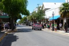 Floride, USA, Key West, animation dans la rue principale