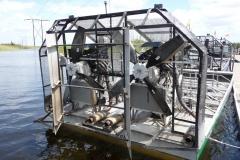 Floride, USA, Everglades, airboat aéroglisseur, moteurs puissant comme les avions