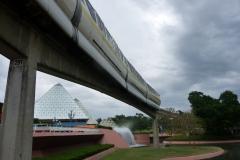 Floride, USA, Orlando, parc Disney, monorail