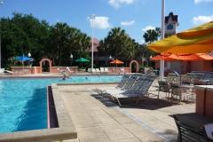 Floride, USA, Orlando, parc Disney, piscine