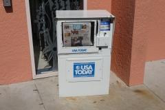 Floride, USA, Orlando, distributeur de journaux USA TODAY