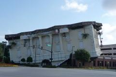 Floride, USA, Orlando, maison renversée WorderWorks