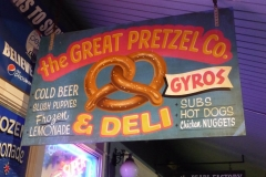 Floride, USA, Orlando, hot dogs, nuggets, gyros, pretzels