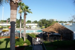 Floride, USA, Orlando, hôtel et piscine partout dans Orlando