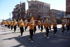 Floride, USA, Orlando, Universal Studios, parade