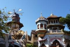 Floride, USA, Orlando, Universal Studios, magasins et restaurants des deux parcs