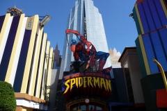 Floride, USA, Orlando, Universal Studios, Spiderman simulateur 3D