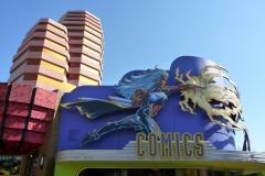 Floride, USA, Orlando, Universal Studios, Comics