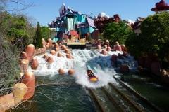 Floride, USA, Orlando, Universal Studios, roller coaster sur l'eau