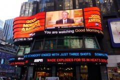 New York City, USA, Broadway, Time Square, Good Morning America !