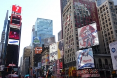 New York City, USA, Broadway,Manhattan, Time Square, enseignes lumineuses