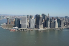 New York City, USA, Manhattan sud, Hudson river