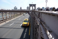 New York City, USA, Manhattan sud, pont de Brooklyn