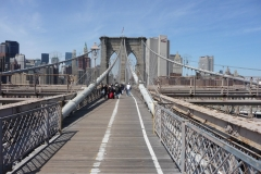New York City, USA, Manhattan sud, pont de Brooklyn