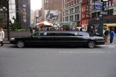 New York City, USA, Manhattan, limousine sur Broadway