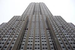 New York City, USA, Manhattan, la façade de l'Empire State Building