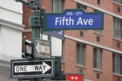 New York City, USA, Manhattan, 5e avenue