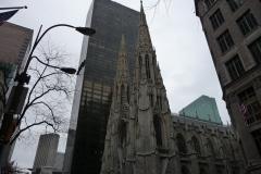 New York City, USA, Manhattan, église gothique