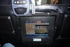 New York City, USA, Manhattan, intérieur taxi new yorkais