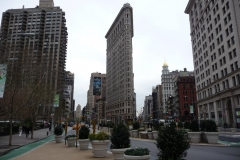 New York City, USA, Manhattan, Flatiron Building, 5e Avenue