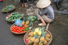 Vietnam, vendeuse de fruits