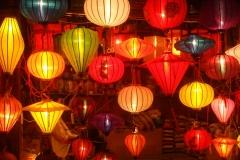 Vietnam, lampions et luminaires
