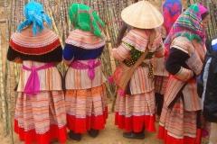Vietnam, Laos, femmes hmong