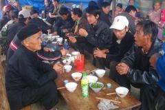 Vietnam, Laos, village hmong