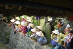 Vietnam, Hue, habitants