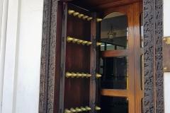 Zanzibar - Stonetown porte en bois