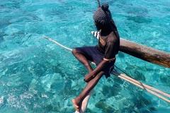 Zanzibar - Jambiani - lagon pêcheur